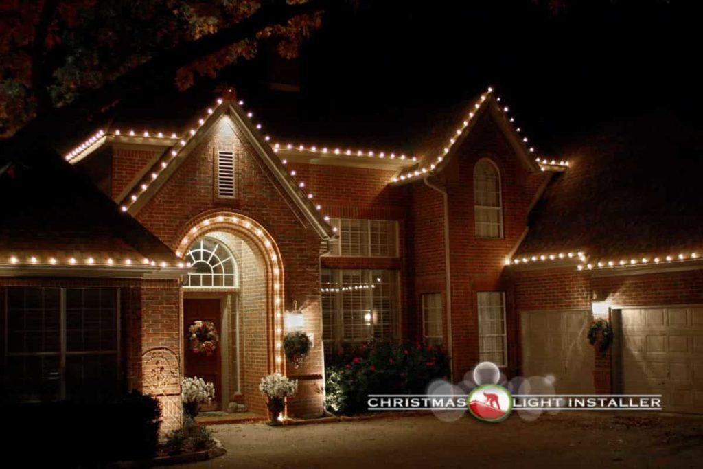 Christmas Roof Lighting