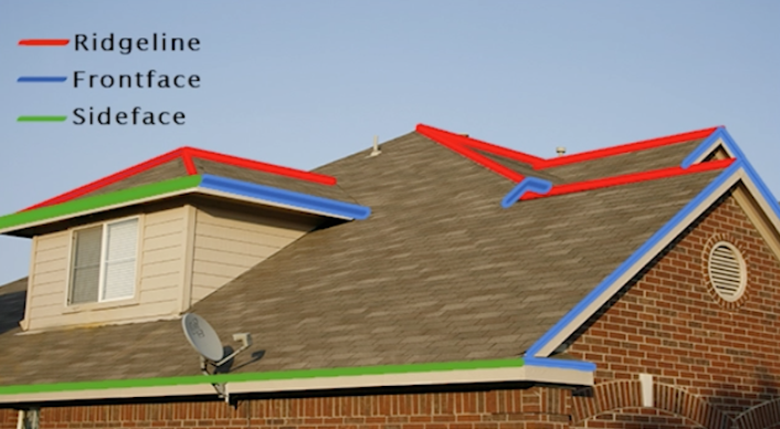 where to hang lights on roof